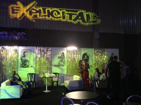 Backstage Salón erótico Valencia