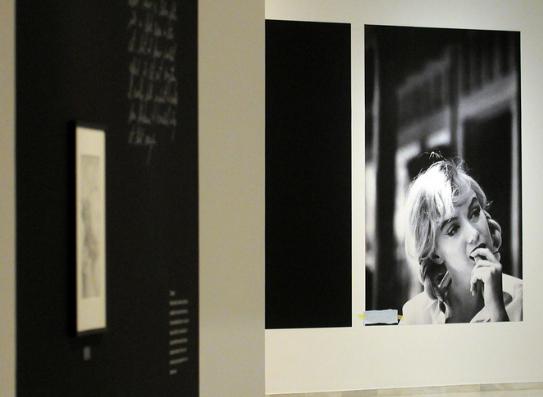 Exposición de fotografía sobre Marilyn Monroe en Valencia