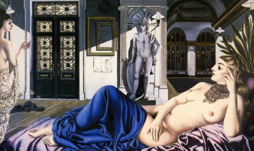 Paul Delvaux, máximo representante del onirismo erótico.