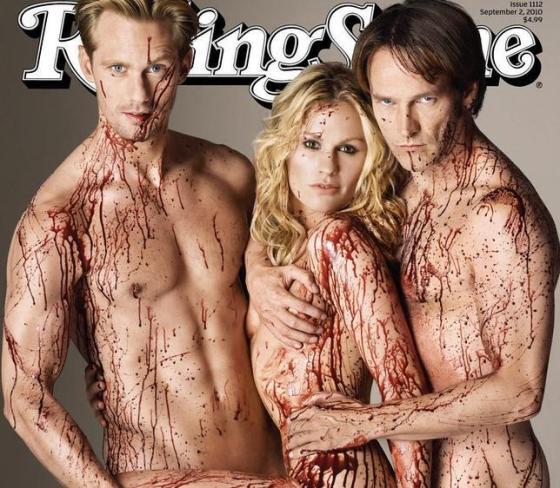Portada Rolling Stone con  sus protagonistas principales Erik, Sooki y Bill