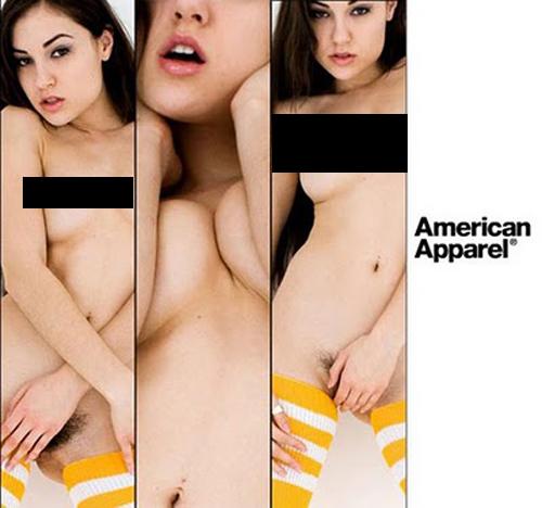 Campaña de American Apparel by Sasha Grey