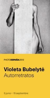 Auto retrato de la artista Violeta Bubelyte